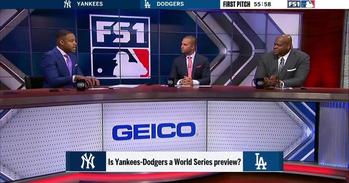 MLB on FOX pregame crew preview Dodgers vs Yankees