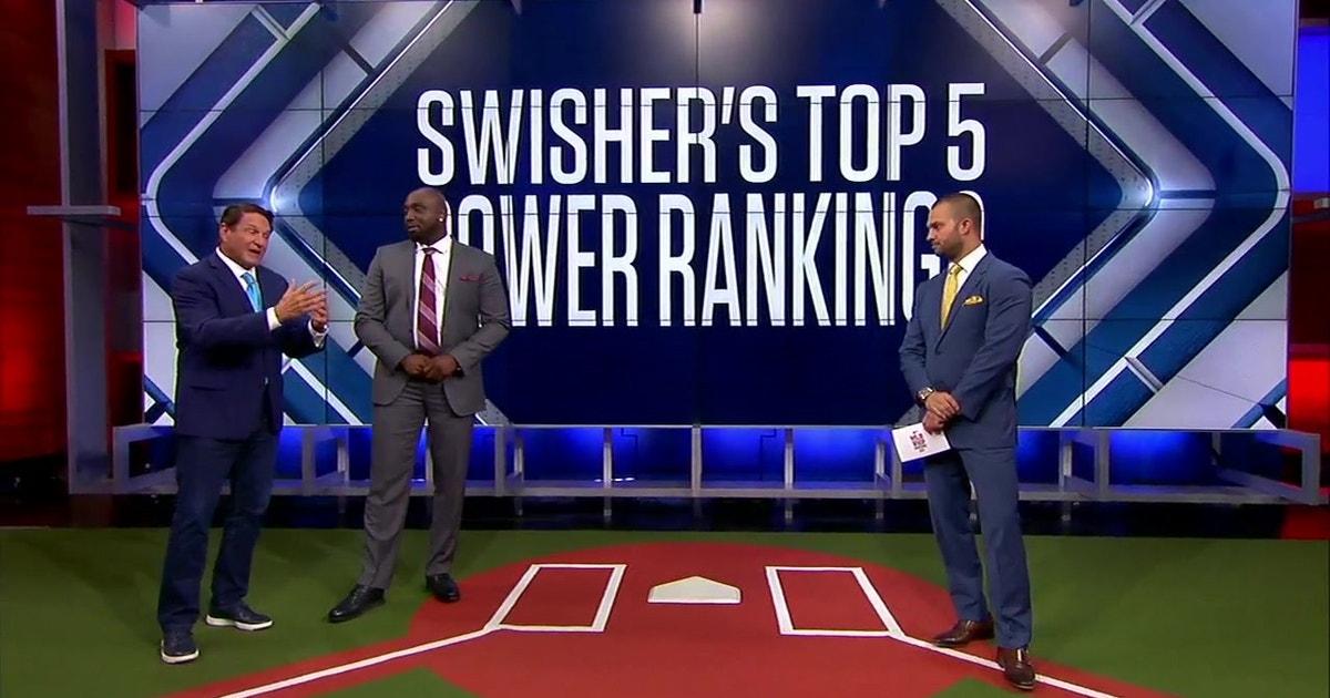 Nick Swisher's Top 5 MLB Power Rankings