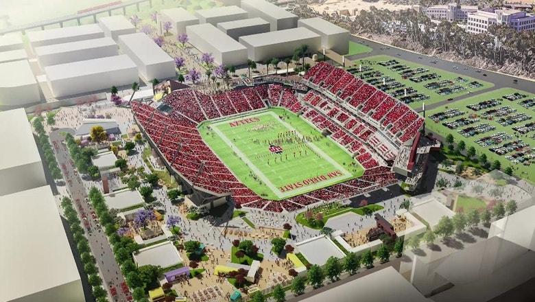 Inside Look at SDSU Stadium with JD Wicker | Inside San Diego Sports