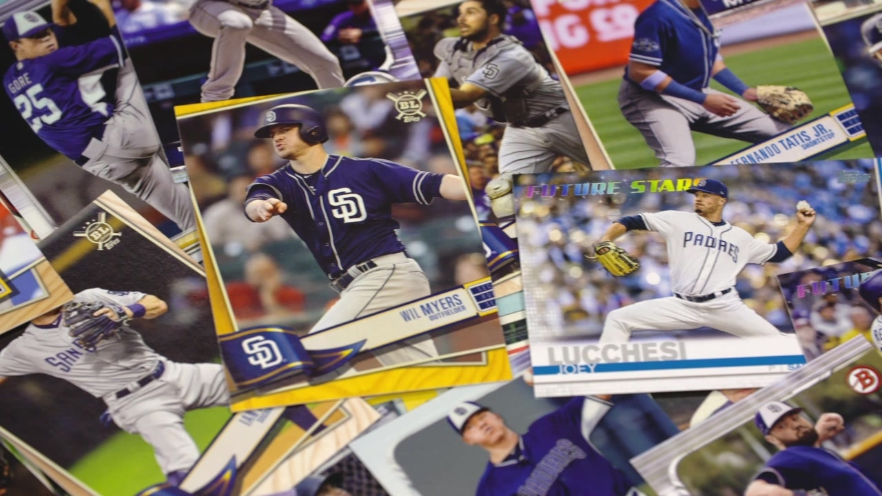 Padres Players Discuss Collecting Baseball Cards Growing Up Padrespov