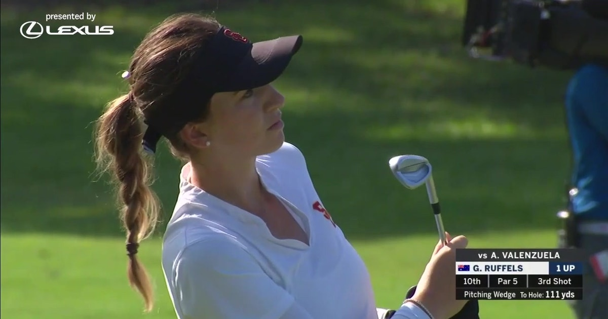 Gabriela Ruffels and Albane Valenzuela were tied after 18 holes at the 119th U.S. Women's Amateur (VIDEO)