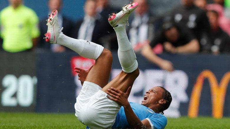 Man City winger Sane to undergo surgery on ligament damage