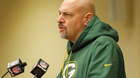 <p>               FILE - In this Feb. 18, 2019, file photo, Green Bay Packers' defensive coordinator Mike Pettine addresses the media during a press conference in Green Bay, Wis. The Packers used major assets this offseason to upgrade their defense and Pettine and others are seeing the difference.(AP Photo/Matt Ludtke, File)             </p>