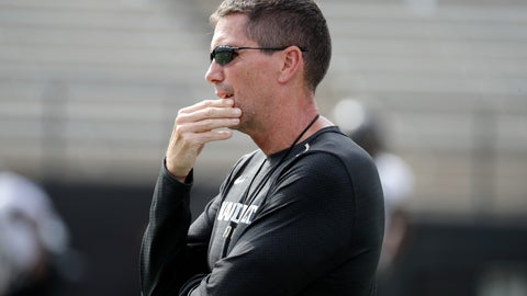 <p>               FILE - In this Aug. 16, 2018, file photo, then-Vanderbilt offensive coordinator Andy Ludwig watches during an NCAA college football practice in Nashville, Tenn. Ludwig is back as offensive coordinator at Utah with an evolving playbook. Utah's players are embracing Ludwig's offense with enthusiasm. It is a bit slower and features more huddles between plays than what they've run in the past. Still, they are seeing and absorbing aspects of the game in a whole new way.(AP Photo/Mark Humphrey, File)             </p>