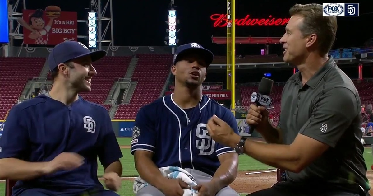 Francisco Mejía hit his 7th HR of the year in Padres 3-2 win