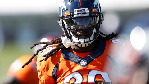 <p>               FILE - In this Monday, Aug. 5, 2019, file photograph, Denver Broncos defensive back Jamal Carter takes part in drills during an NFL football training camp session in Englewood, Colo. With a rash of injuries at inside linebacker, the Denver Broncos went searching for a suitable fill-in, and they didn't have to look very far. The Broncos moved third-year safety Jamal Carter over to linebacker this week to help out at a position that's been hit hard: Todd Davis strained a calf on the first day of training camp and hasn't been back. Fellow starter Josey Jewell has missed time with a strained oblique muscle and backup Joe Jones is dealing with a strained triceps. (AP Photo/David Zalubowski,File)             </p>
