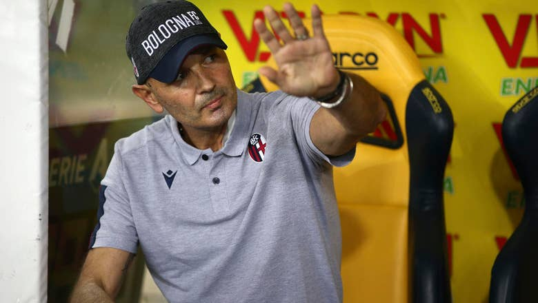 Ailing Mihajlovic coaches Bologna during leukemia treatment