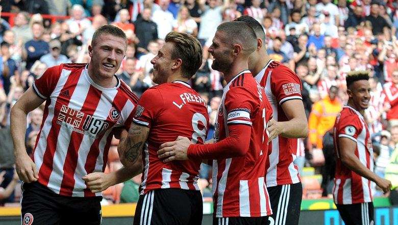 Sheffield United gets 1st win since return to Premier League