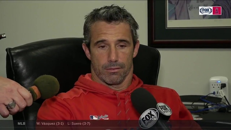Ausmus after the Angels lose to the Rangers again in extra innings