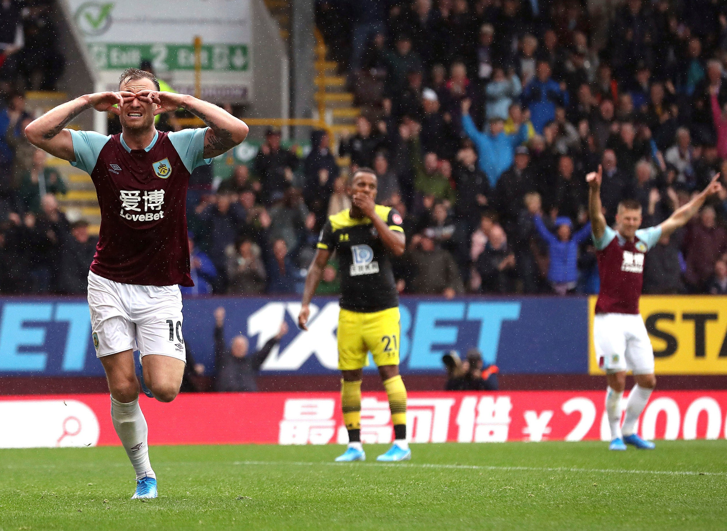 Barnes double leads Burnley to 3-0 win against Southampton | FOX Sports