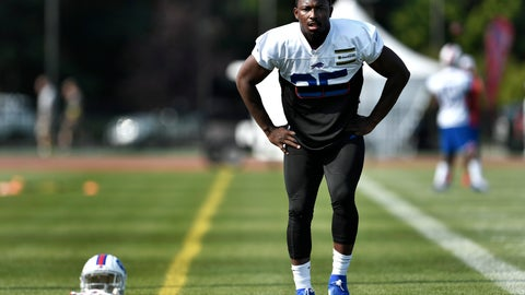 <p>               FILE - In this July 25, 2019 file photo, Buffalo Bills running back LeSean McCoy stretches during practice at the NFL football team's training camp in Pittsford, N.Y. A person with direct knowledge of the decision has confirmed to The Associated Press the Buffalo Bills have released veteran running back LeSean McCoy in a stunning move made as NFL teams set their 53-player rosters. The person spoke to The AP on the condition of anonymity on Saturday, Aug. 31,  because the Bills have not announced the decision. ESPN.com first reported McCoy being cut. (AP Photo/Adrian Kraus, File)             </p>