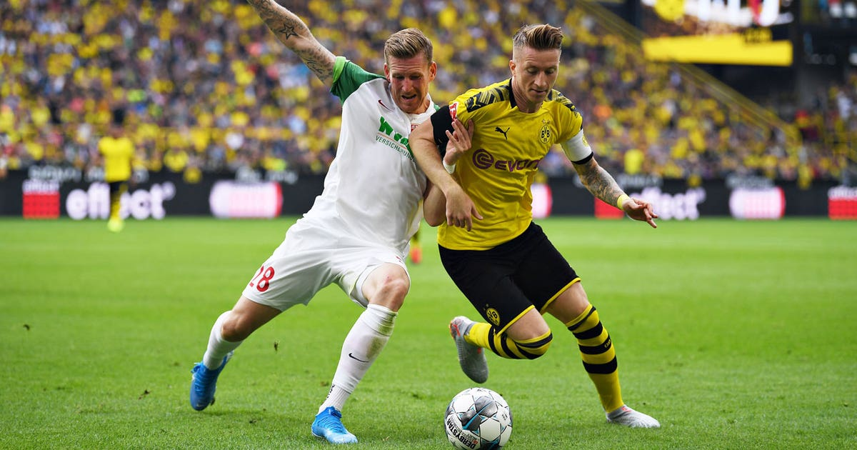 Borussia Dortmund vs. FC Augsburg | 2019 Bundesliga Highlights