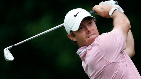 <p>               Rory McIlroy hits from the tee on the 11th hole during third-round play in the Tour Championship golf tournament Sunday, Aug. 25, 2019, at East Lake Golf Club in Atlanta. (AP Photo/John Bazemore)             </p>