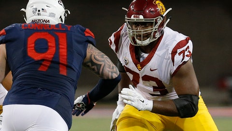<p>               File- This Sept. 29, 2018, file photo shows Southern California offensive lineman Austin Jackson (73) in the first half during an NCAA college football game against Arizona in Tucson, Ariz. Jackson wants to lead Southern California back to the Pac-12 title, but the left tackle already scored a bigger victory when he donated bone marrow to his younger sister, Autumn, last month. (AP Photo/Rick Scuteri, File)             </p>