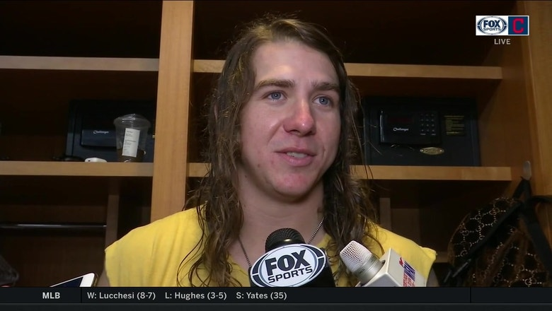 Mike Clevinger talks about his game plan against the Yankees
