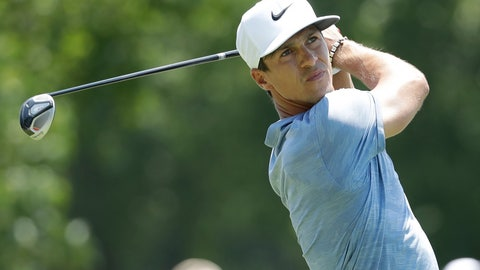 <p>               Thorbjorn Olesen, of Denmark, hits off the second tee during the first round of the World Golf Championships-FedEx St. Jude Invitational Thursday, July 25, 2019, in Memphis, Tenn. (AP Photo/Mark Humphrey)             </p>