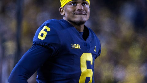 <p>               FILE - In this Saturday, Nov. 3, 2018 file photo, Michigan defensive back Myles Sims (6) watches from the sideline in the fourth quarter of an NCAA college football game against Penn State in Ann Arbor, Mich. With the college football season set to start for most teams this weekend, the NCAA has been handing down rulings left and right in waiver cases involving transfers seeking immediate eligibility. (AP Photo/Tony Ding, File)             </p>