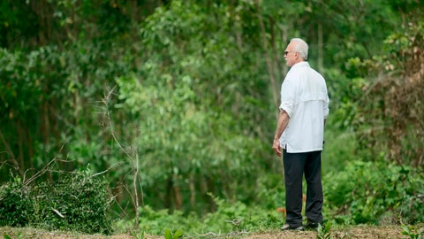 """<p>               In an image provided by ESPN from video, Rocky Bleier stands in Hiep Duc Valley, about 35 miles (56 kilometers) south of Danang in Vietnam, on Aug. 20, 2018. Three months into his deployment to Vietnam, Bleier was shot through the thigh and suffered a grenade blast to his foot. Doctors told him that he'd never play football again. Steelers owner Art Rooney supported Bleier by placing him on injured reserve rather than cutting him from the team. Bleier then defied the odds, returning to football as a star running back on the """"Steel Curtain"""" Steelers teams of the 1970s and becoming the only war veteran to have four Super Bowl rings. (ESPN via AP)             </p>"""
