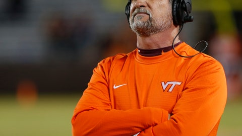 <p>               FILE - In this Oct. 25, 2018, file photo, Virginia Tech defensive coordinator Bud Foster looks at the scoreboard during the second half of an NCAA college football game against Georgia Tech, in Blacksburg, Va. Foster says the upcoming football season will be his final as an assistant coach. Foster has been the Hokies' defensive coordinator since 1995. His 33 years on staff makes him the longest tenured assistant coach in the country at the same school. (AP Photo/Steve Helber, File)             </p>