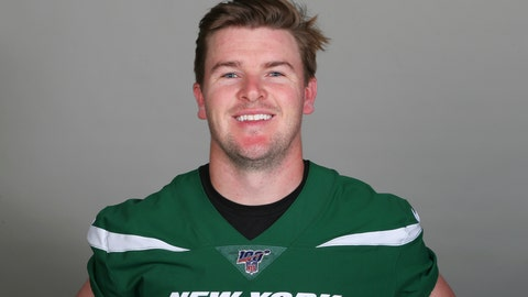 <p>               This is a 2019 photo of Chandler Catanzaro of the New York Jets NFL football team. Catanzaro has retired after a shaky start to training camp. The team announced Catanzaro's decision Sunday, Aug. 11, 2019. The Jets also signed kicker Taylor Bertolet to replace Catanzaro on the roster. (AP Photo)             </p>