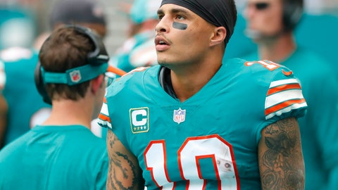 <p>               FILE - In this Dec. 9, 2018, file photo, Miami Dolphins wide receiver Kenny Stills (10) stands along the sideline during the first half of the team's NFL football game against the New England Patriots in Miami Gardens, Fla. Dolphins owner Stephen Ross is defending his support of longtime friend Donald Trump after being criticized about it by Stills. (AP Photo/Wilfredo Lee, File)             </p>
