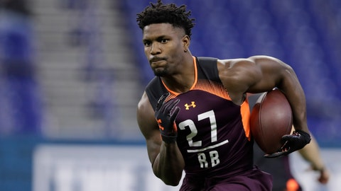 <p>               FILE - In this March 1, 2019, file photo, Washington State running back James Williams runs a drill during the NFL football scouting combine in Indianapolis. Marlon Mack looks around the Indianapolis Colts locker room and sees the nameplates changing on a continual basis. On Monday, the names of Charcandrick West and Marquis Young appeared in running back row. On Tuesday, Aug. 20,  James Williams joined the group amid an injury rash that has decimated the Colts' backfield depth. (AP Photo/Darron Cummings, File)             </p>