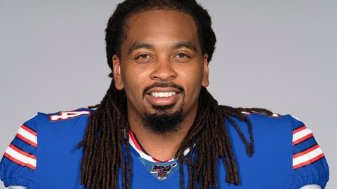 <p>               FILE - This is a 2019 file photo showing LaAdrian Waddle of the Buffalo Bills NFL football team.  A person with direct knowledge of the injury confirms to The Associated Press that Buffalo Bills offensive tackle LaAdrian Waddle has a torn right quadriceps and is expected to miss the season. The person spoke to the AP on the condition of anonymity Monday, Aug. 5, 2019, because the team hasn't revealed the severity of the injury. (AP Photo/File)             </p>