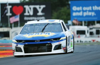 The Latest: Elliott wins first stage of NASCAR Cup race