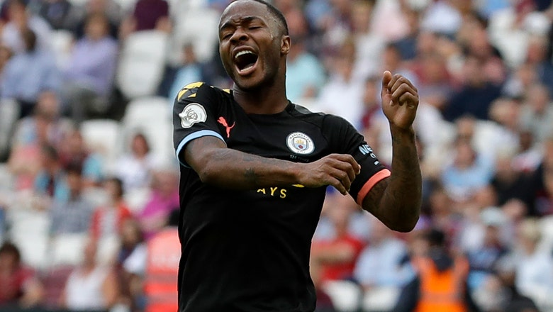 Man City routs West Ham 5-0 to start Premier League defense