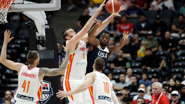 At 34, Raptors' Marc Gasol will carry Spain's World Cup hope