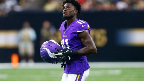 <p>               FILE - In this Aug. 9, 2019, file photo, Minnesota Vikings wide receiver Laquon Treadwell (11) walks on the field in the second half of an NFL preseason football game against the New Orleans Saints in New Orleans. Treadwell is likely closing in on the end of his lackluster tenure with the Vikings, three years after they drafted the wide receiver in the first round. (AP Photo/Butch Dill, File)             </p>