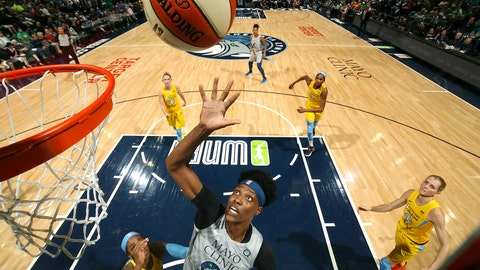 The Minnesota Lynx (↑ UP)