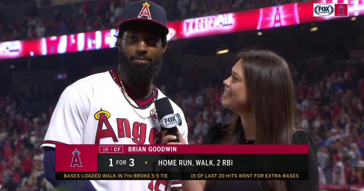 """""""We never quit!"""" -Goodwin on Angels Victory"""