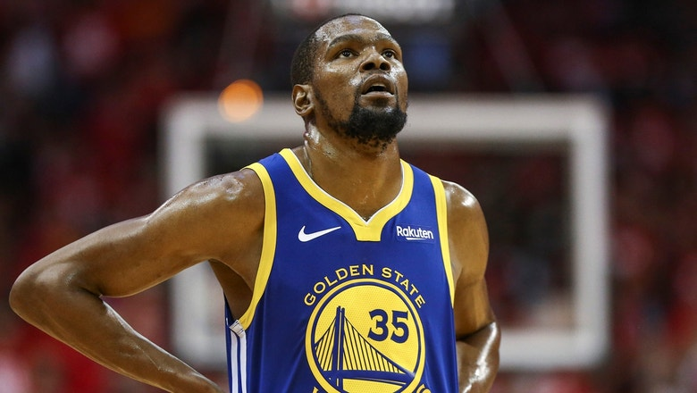 Shannon Sharpe: KD not speaking to teammates proves he was never coming back to Warriors