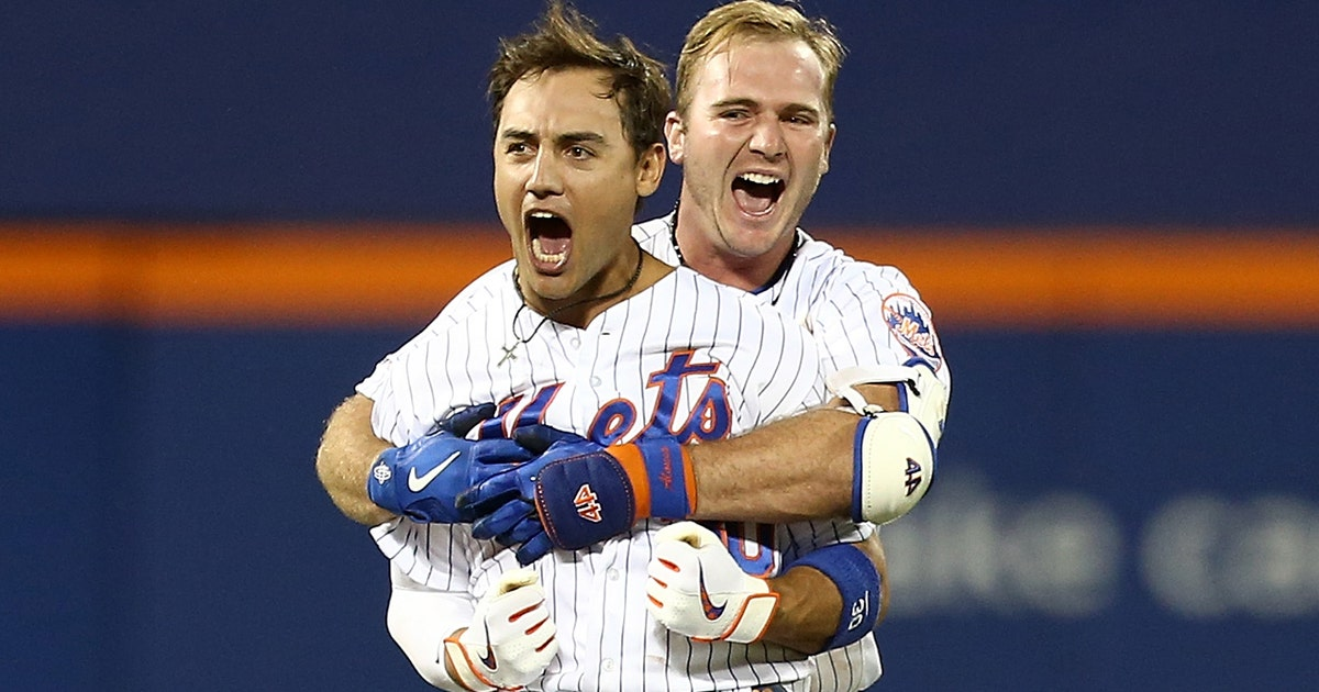 The Mets would not be denied, walk-off in ninth