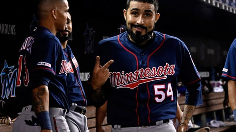 Sergio Romo, Twins reliever (⬆️ UP)