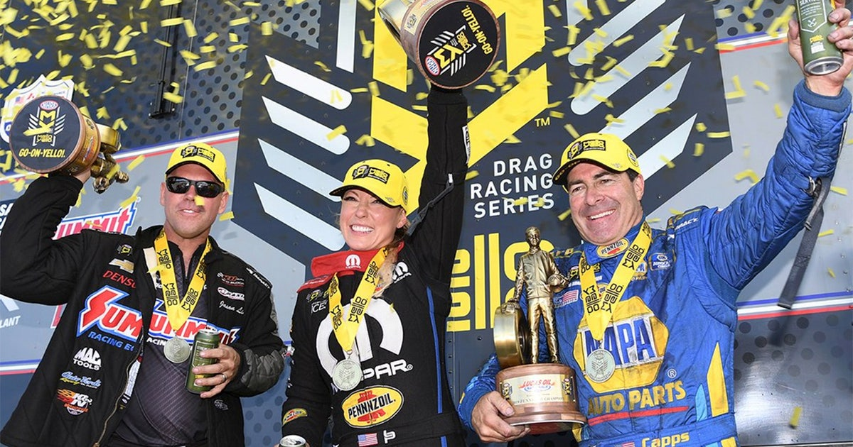 Jason Line, Ron Capps and Leah Pritchett win in Brainerd | NHRA DRAG RACING
