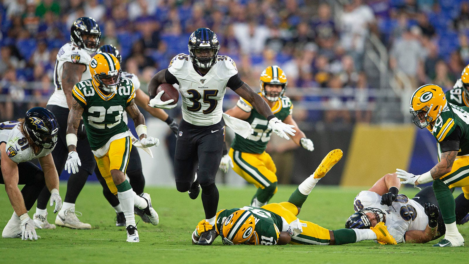 f7d14afd Upon Further Review: Green Bay Packers at Baltimore Ravens