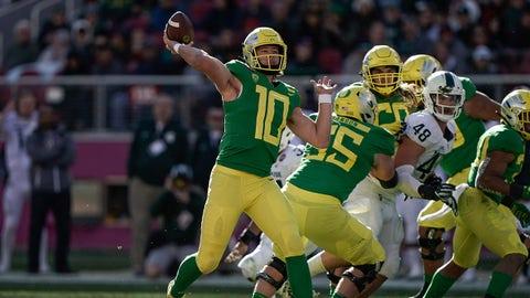 Pac-12 Favorite: Justin Herbert, QB Oregon
