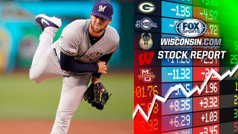 The new Brewers pitchers (↑ UP)