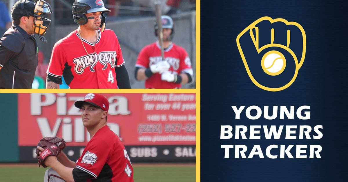 Brewers prospects named MVP, Pitcher of Year in Carolina League