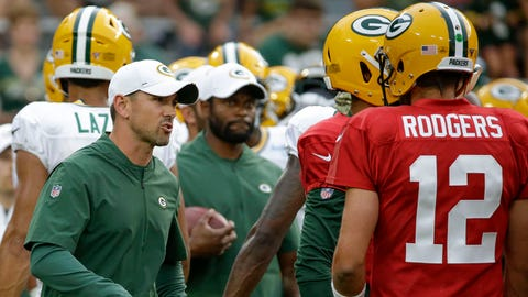 Rodgers to Ravens' Jackson -- 'Slide a little bit'