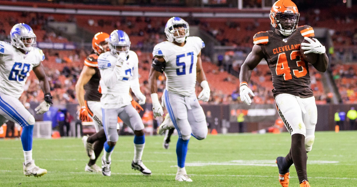 Lions end preseason winless after 20-16 loss to Browns