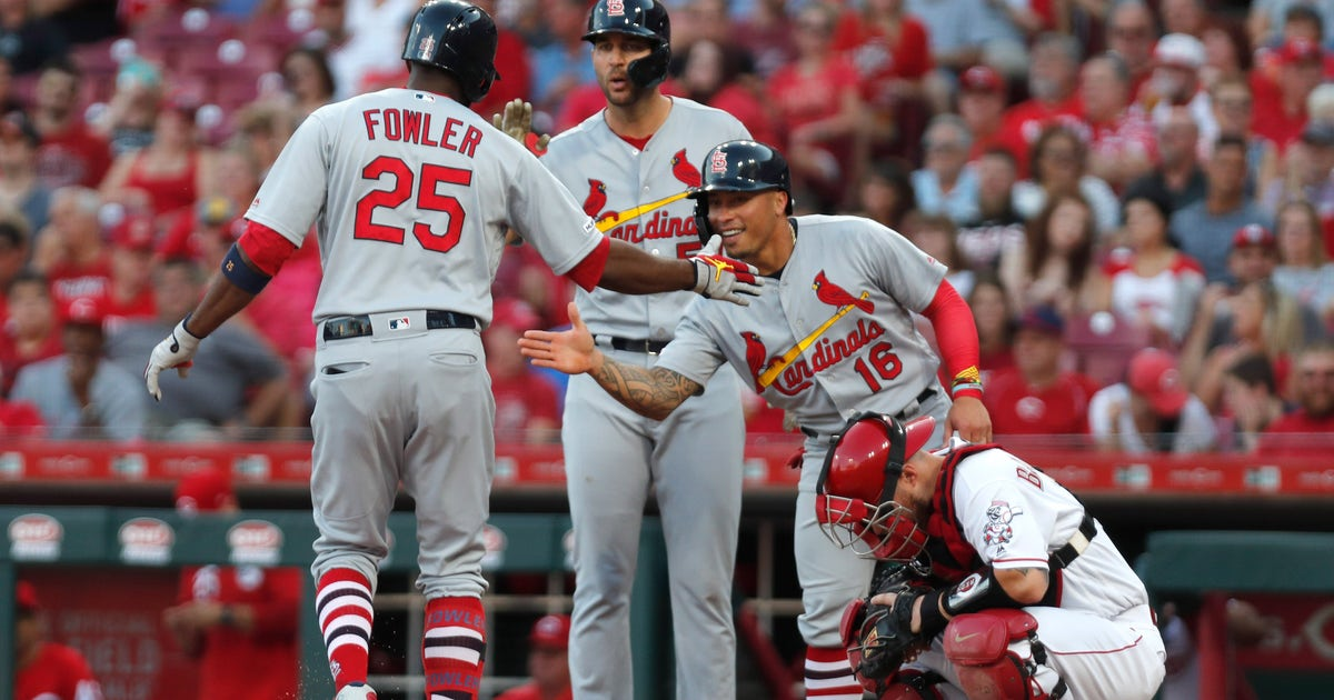 Cardinals' offense erupts for 18 hits in 13-4 victory over Reds | FOX Sports