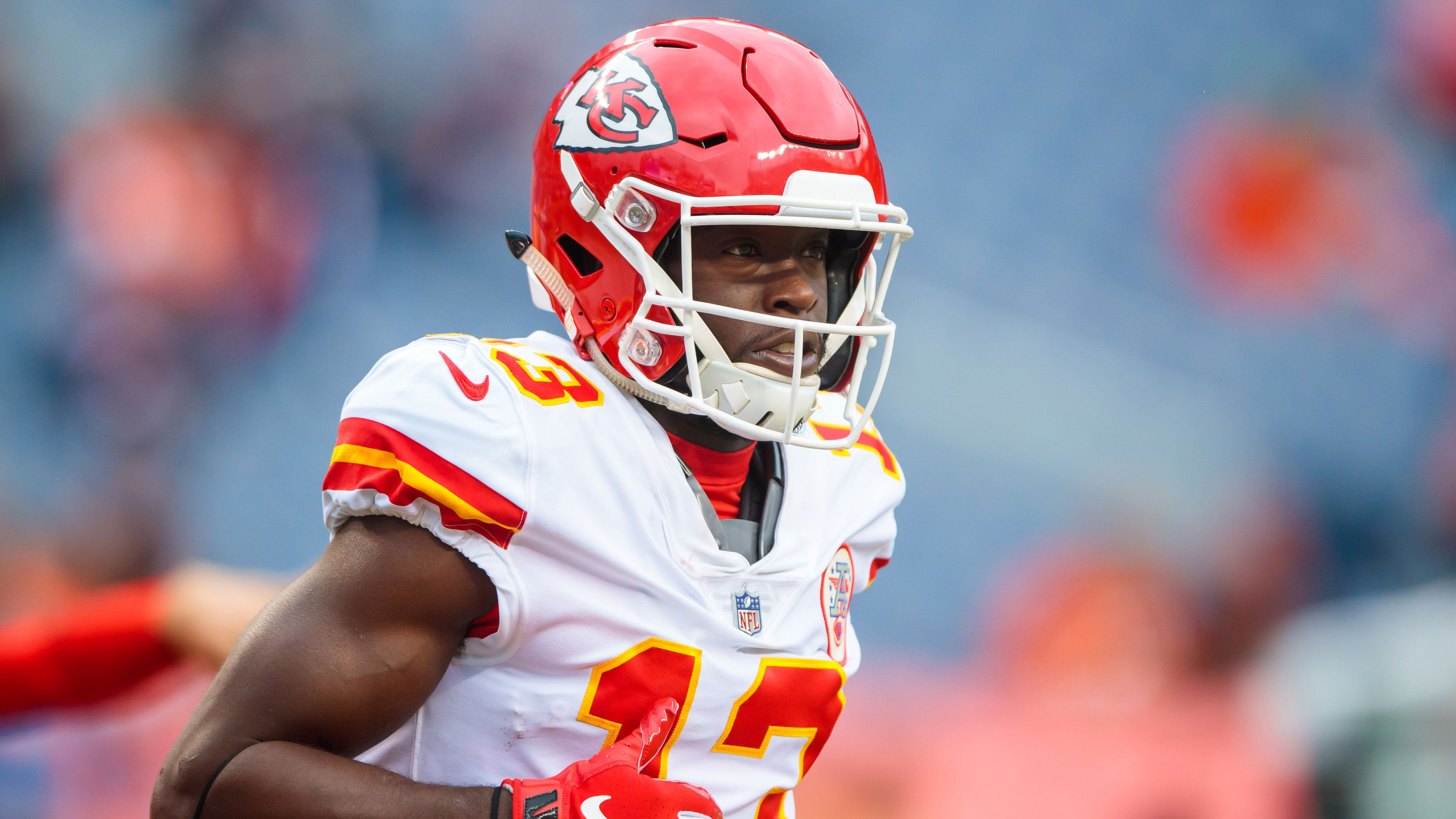 wholesale dealer 19d6a 55bec Chiefs return suspended WR Thomas to active roster, waive WR ...