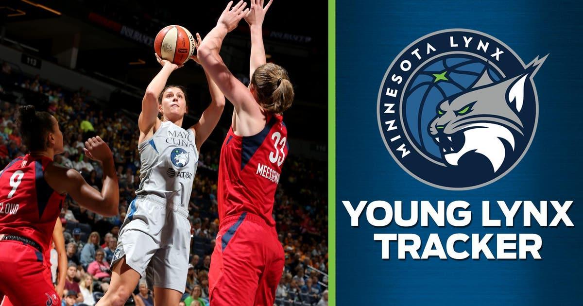 Minnesota Lynx's Stephanie Talbot emerges as full-time contributor