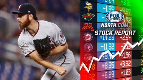 Sam Dyson, Twins reliever (↑ UP)
