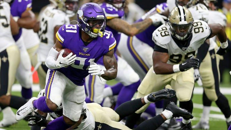 Vikings assessing RB depth, keeping Cook fresh