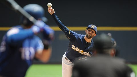 Jordan Lyles, Brewers starting pitcher (↑ UP)