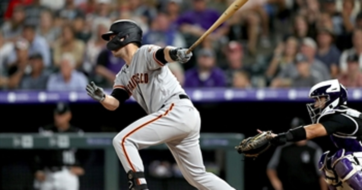 Buster Posey smokes pinch-hit, go-ahead RBI double in Giants crucial 6-5 win over Colorado